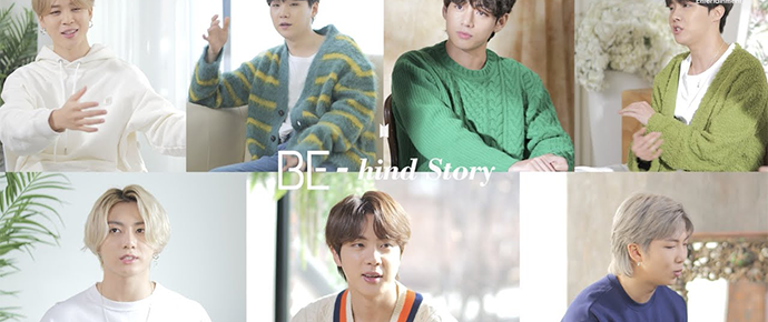 🎥 BTS 'BE-hind Story' Teaser