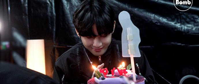[BANGTAN BOMB] Festa de aniversário surpresa para o V