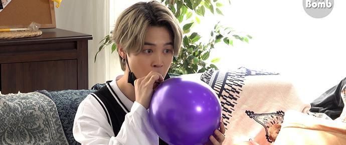 [BANGTAN BOMB] Jimin e balões de Hélio